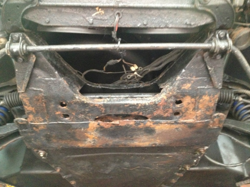 Frame rust...quite possibly the #1 value-killer in DeLorean cars ...